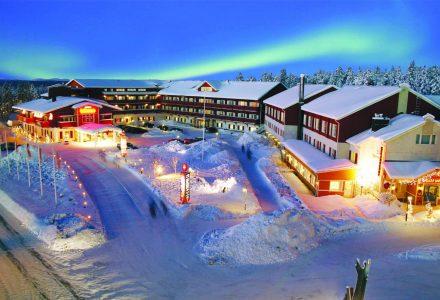 The family owned Hotel Hullu Poro